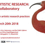 Symposium March 20th: Doing Artistic Research: A Collaboratory