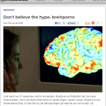 Don't believe the hype: breinporno