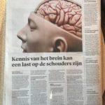 Interview over het plastische brein in Trouw
