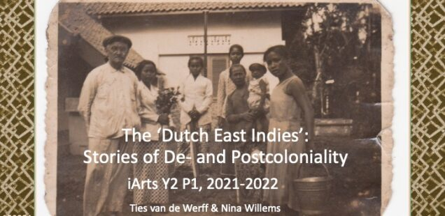 When teaching an art course on de- and postcoloniality of the Dutch East Indies